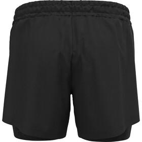 "Odlo Run Easy 5"" 2-in-1 Shorts Women, negro"
